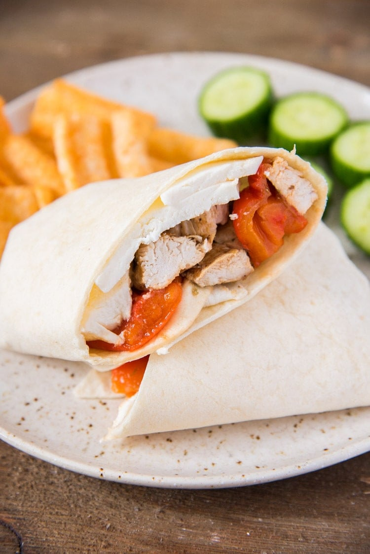 Healthy Grilled Chicken Wrap Recipe