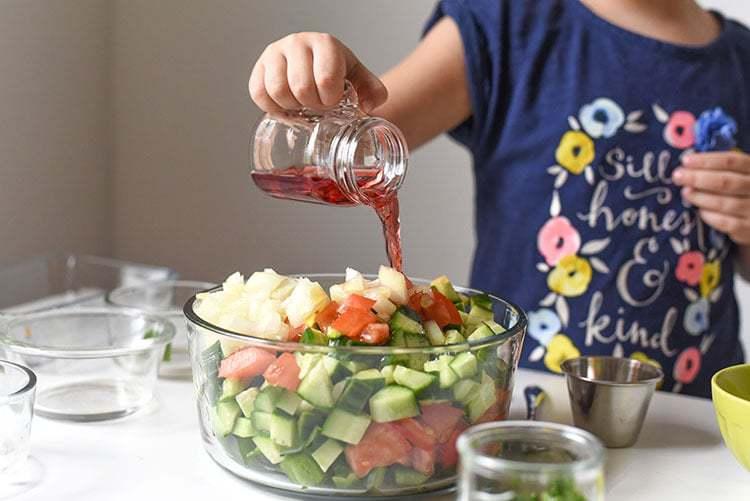 Homemade Shopska Salad Recipe