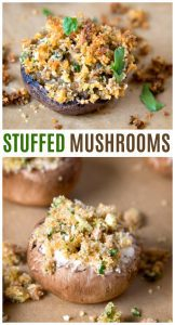 stuffed mushrooms recipe pinterest