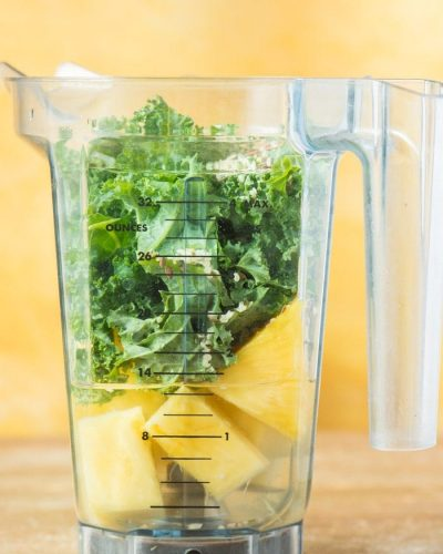 kale pineapple smoothie ingredients