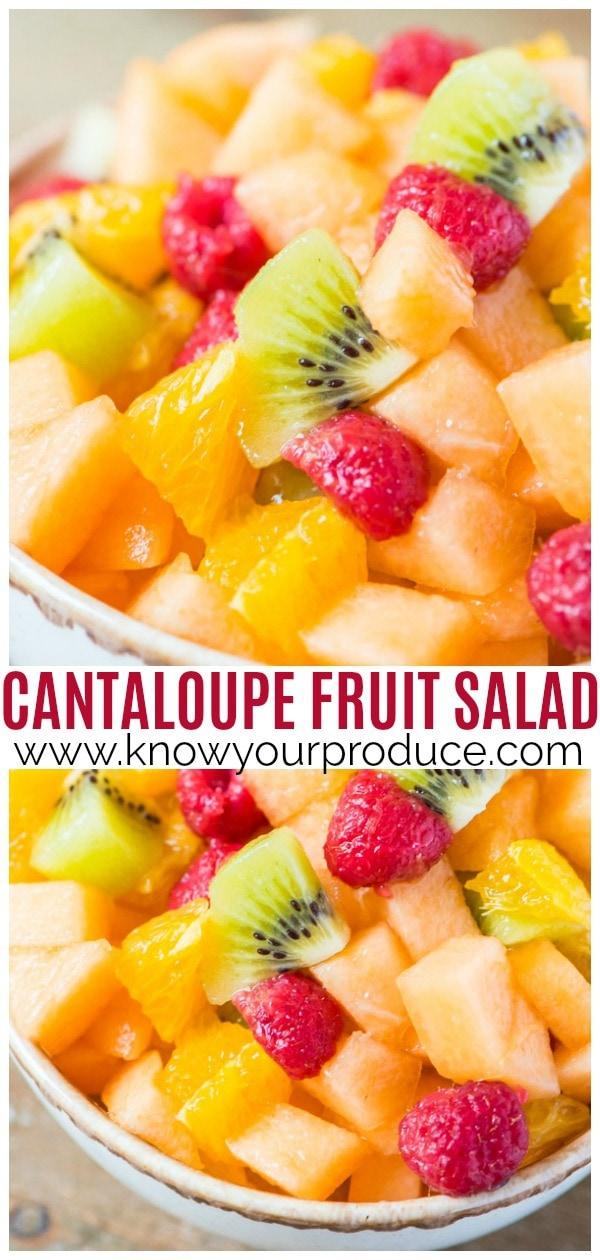 cantaloupe fruit salad pin