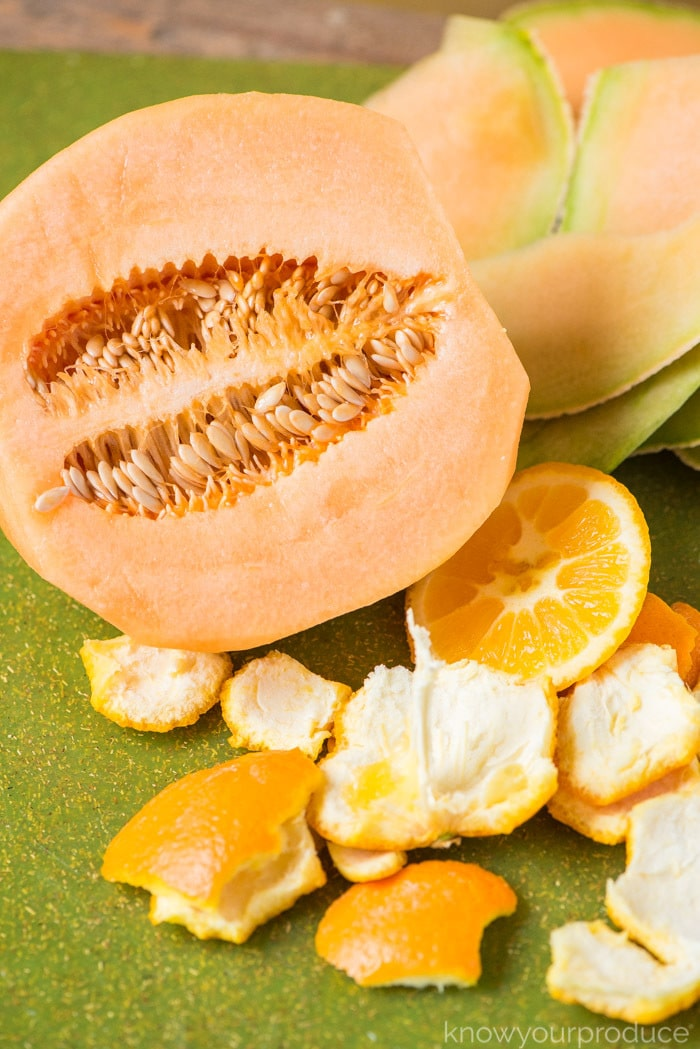 cantaloupe smoothie ingredients