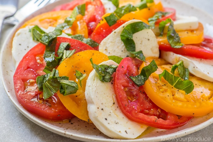 heirloom caprese salad recipe