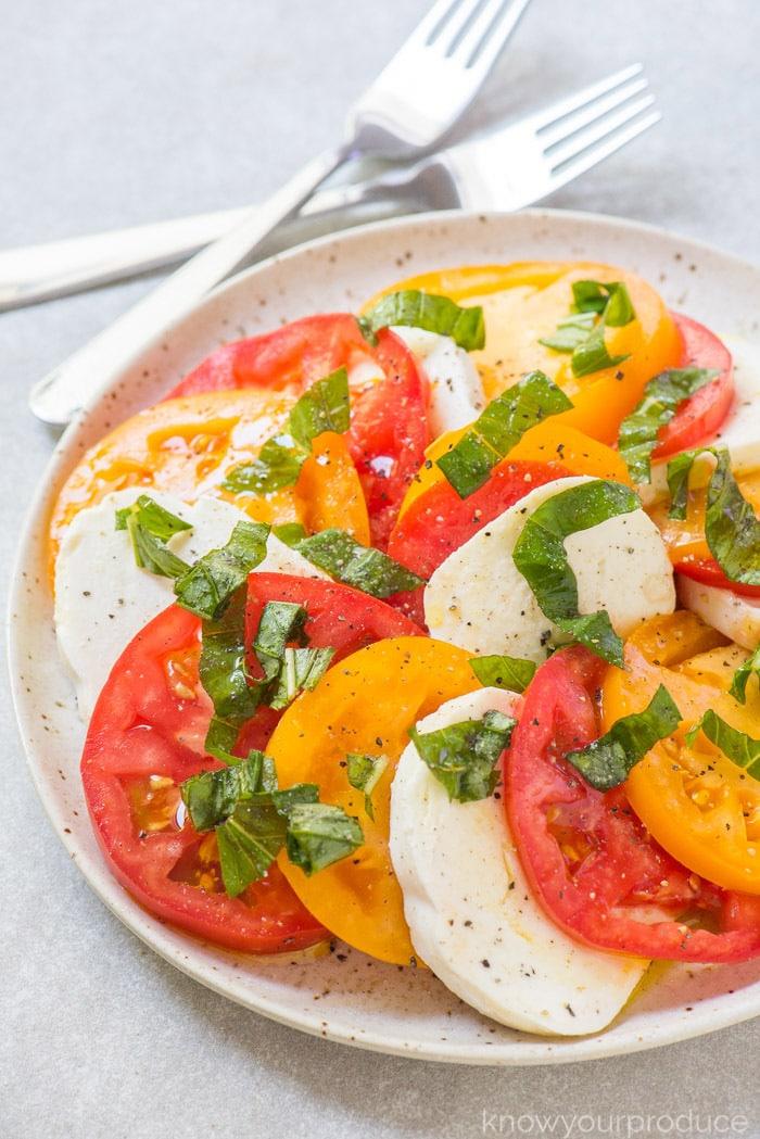 homemade caprese salad recipe