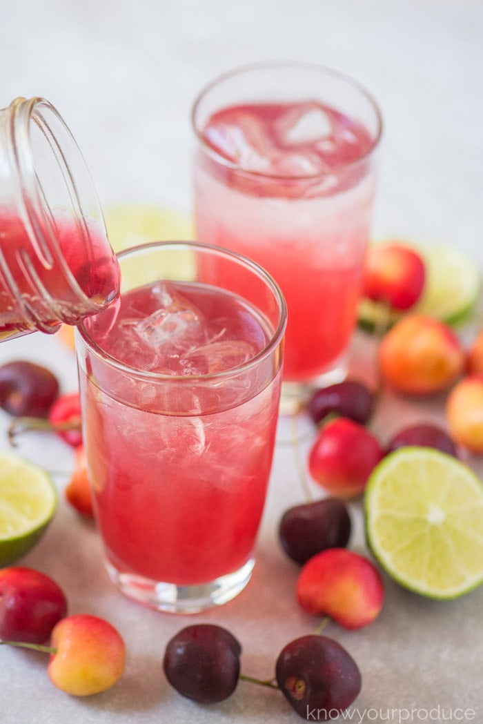 how to make cherry limeade