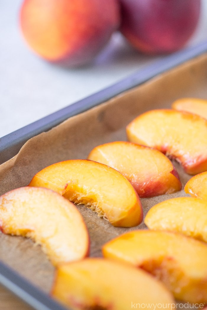 how to freeze fresh peaches
