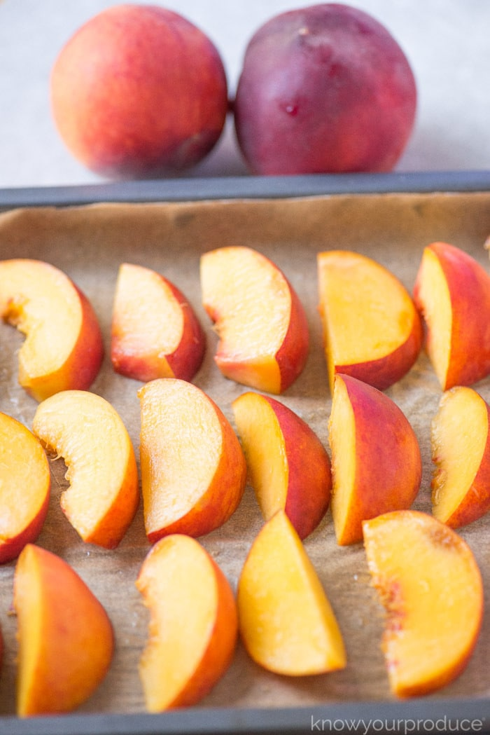how to freeze peaches the easy way