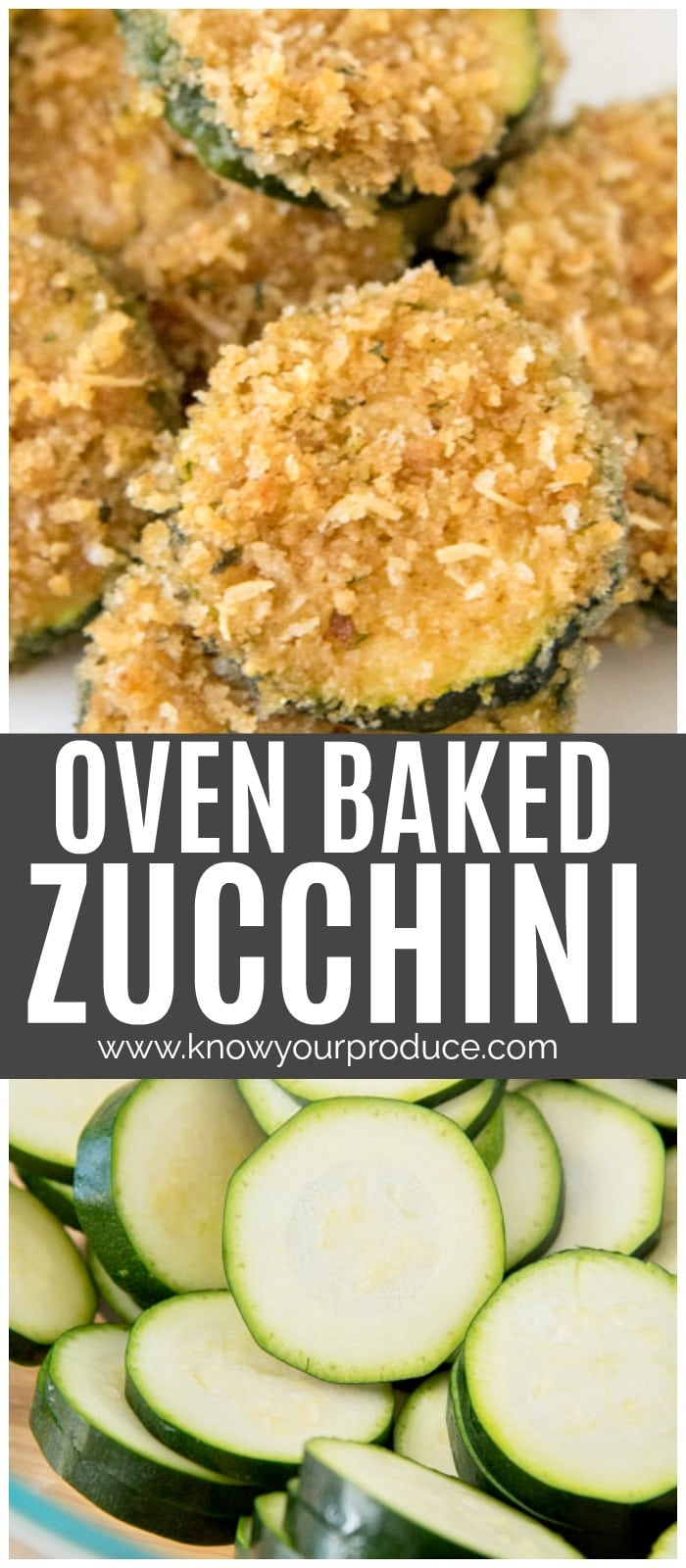 This baked zucchini is a great way to use up your zucchini squash! Make a large batch for entertaining, or a small batch as a summer side dish with dinner.