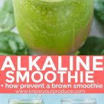 healthy alkaline smoothie recipe