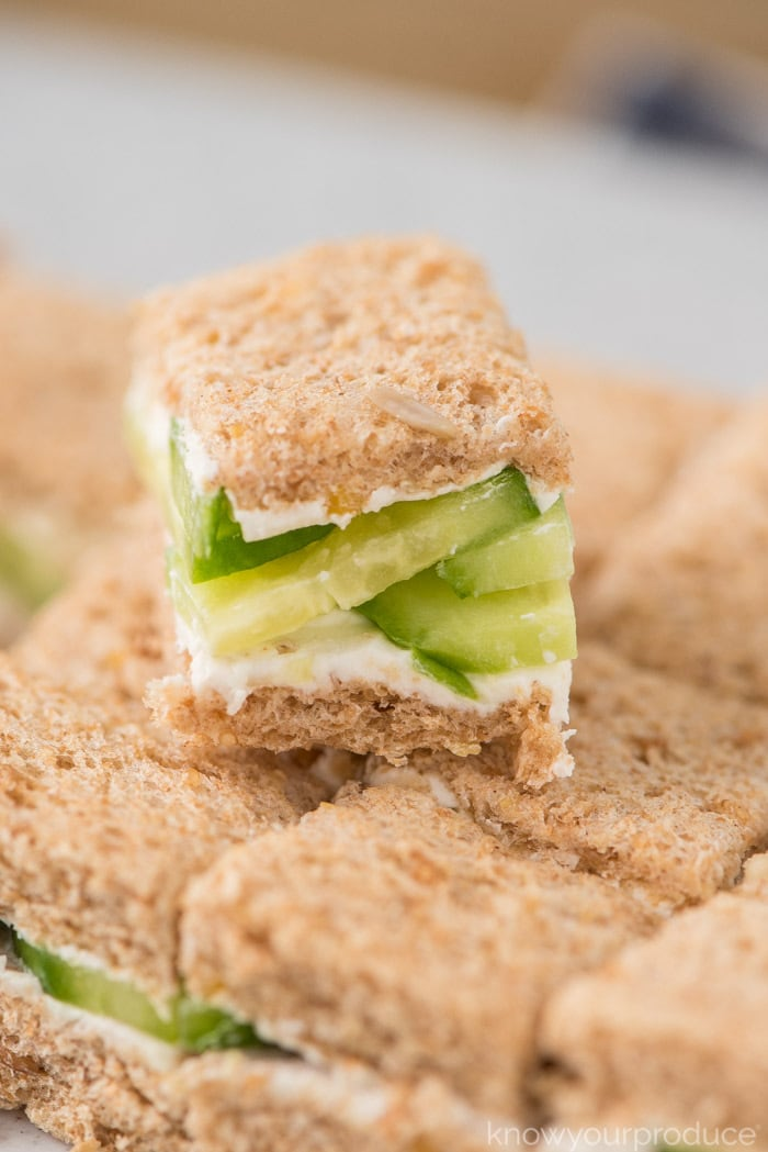 cucumber cream cheese sandwich recipe