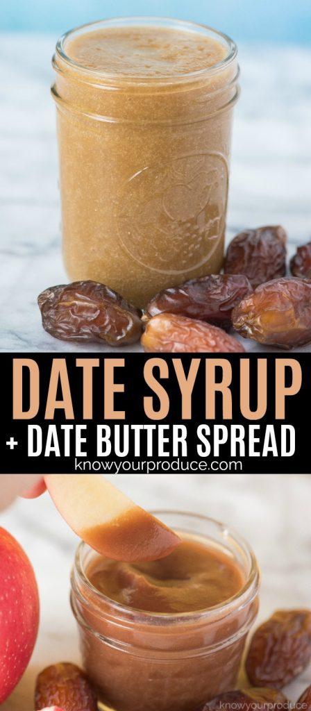 date syrup 2 ingredients in vitamix blender