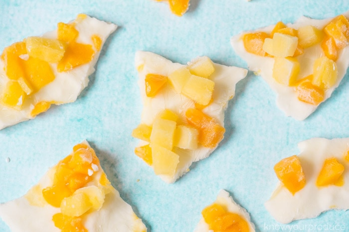 how to make frozen yogurt bark