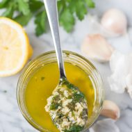 Lemon Garlic Butter Sauce