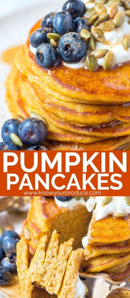 Pumpkin Pancakes #pumpkin #pancakes #breakfast