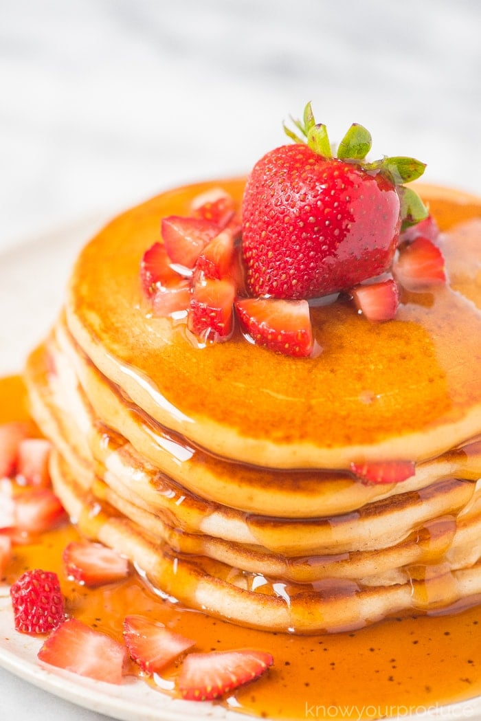 Strawberry Pancakes Know Your Produce