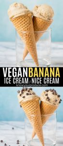 Vegan Banana Ice Cream is a delicious nice cream that is made in the Vitamix. You can easily make this allergy-friendly ice cream flavored too!