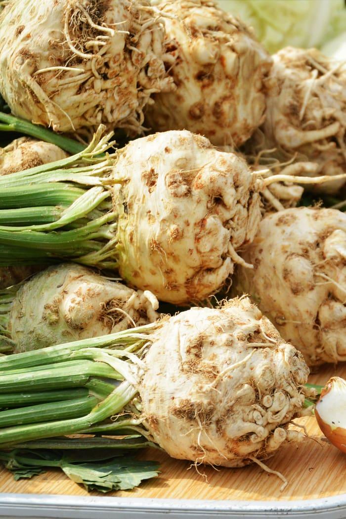 celery root celeriac