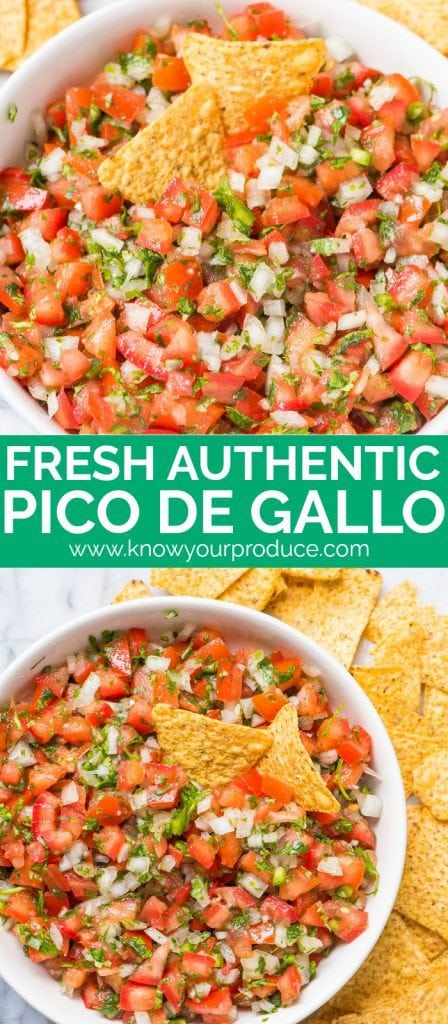 pico de gallo recipe authentic mexican appetizer