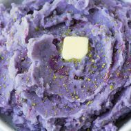 Purple Mashed Potatoes recipe