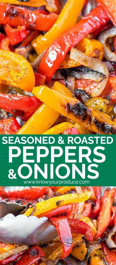 roasted peppers and onions recipe