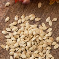Roasted Spaghetti Squash Seeds