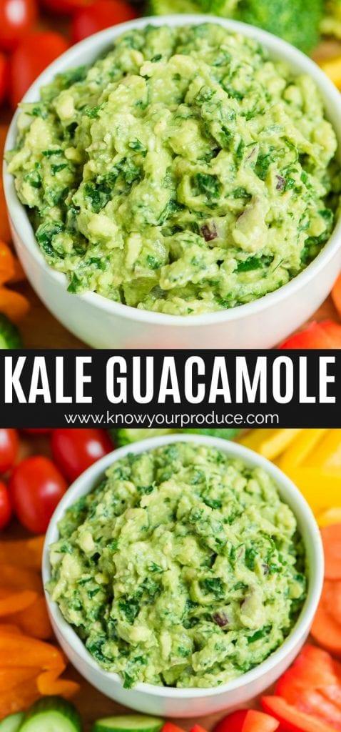 the best kale guacamole recipe