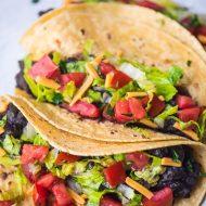 Black Bean Tacos – Vegan – Gluten Free