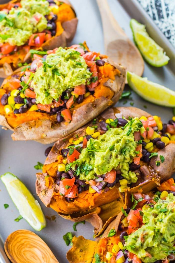 Taco Sweet Potatoes