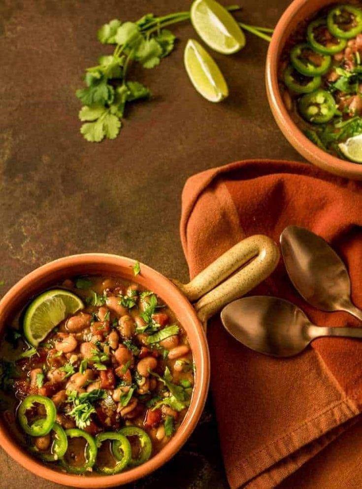 Instant Pot Vegan Borracho Beans