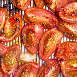 Roasted Tomatoes – How to Roast without Oil