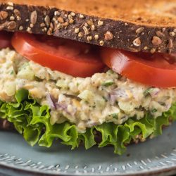 Vegan Tuna Salad – Chickpea Salad Sandwich