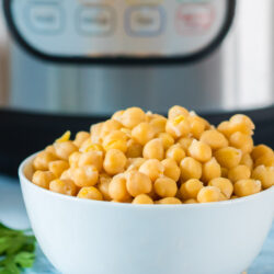 cooked chickpeas instant pot